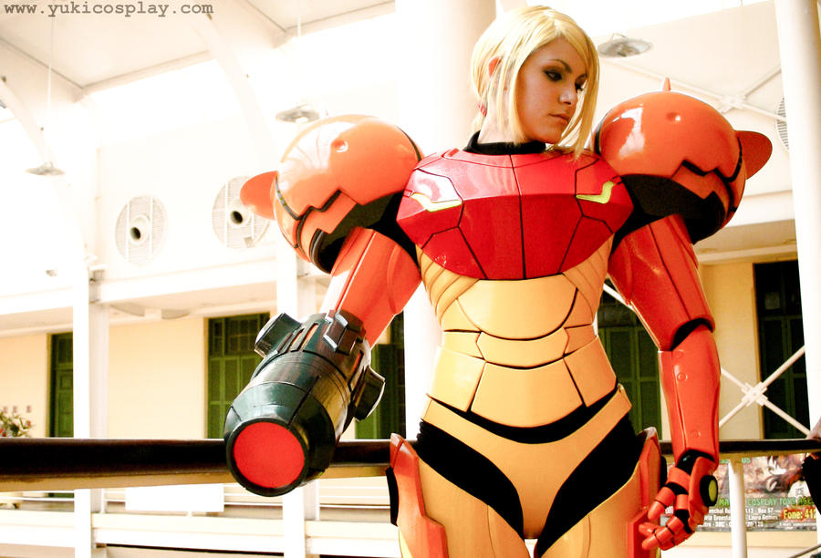 Bounty Hunter Samus - Cosplay