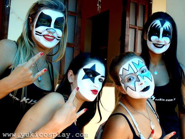 KISS makeup 2 by Yukilefay