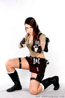 Lara Croft by Yukilefay