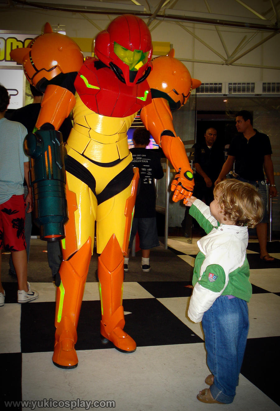 Samus and the child