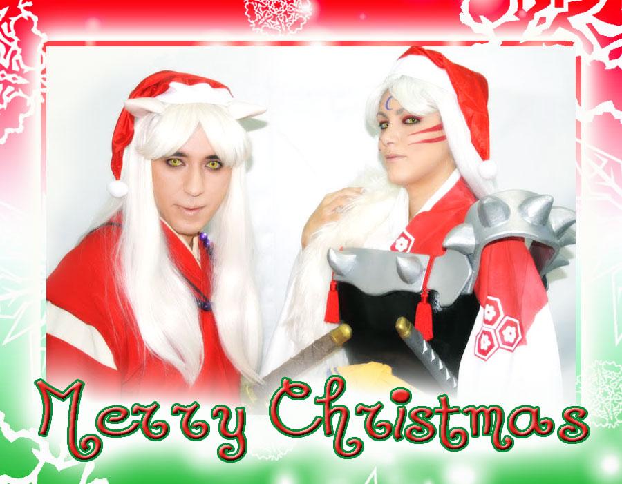 Merry Christmas from InuYasha by Yukilefay
