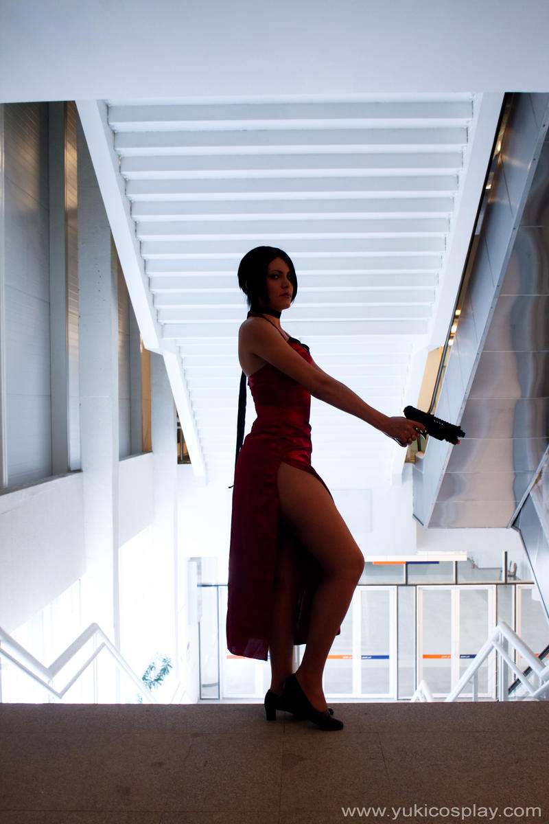 Ada Wong - Cosplay RE4 by Yukilefay