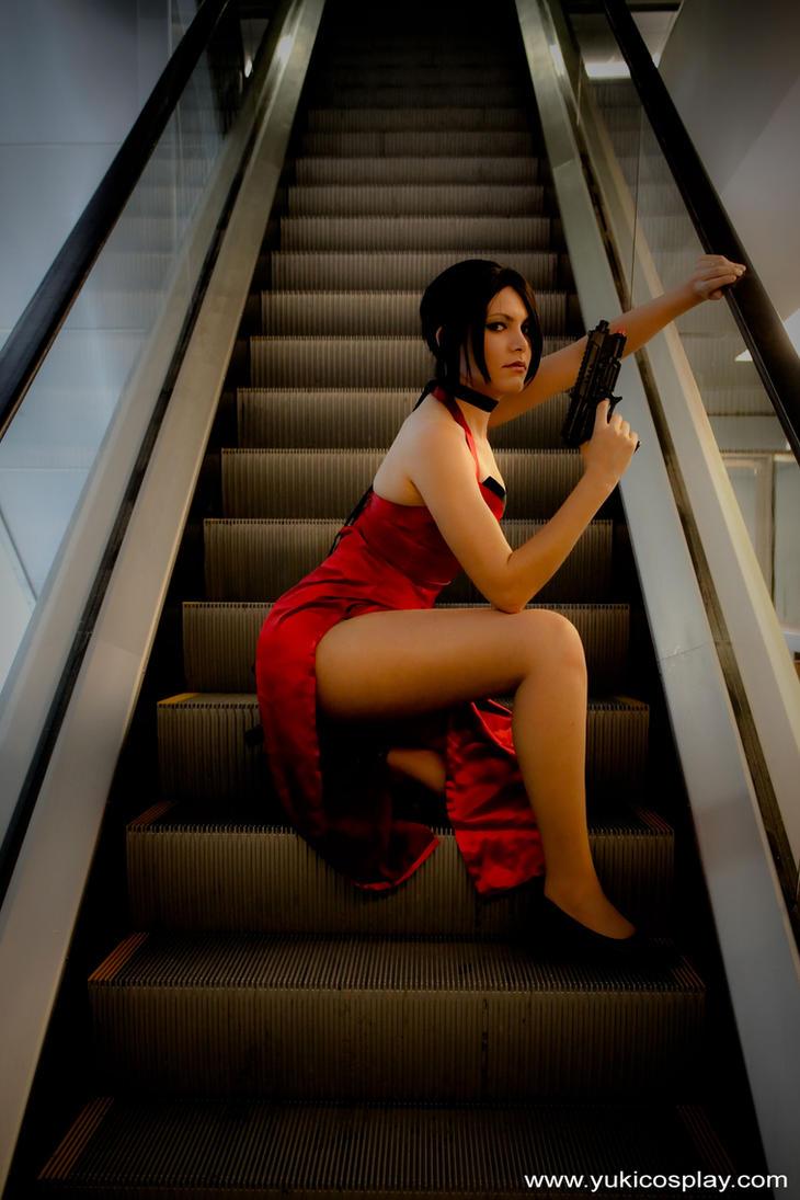 Ada Wong - Cosplay 2 by Yukilefay