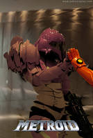 Metroid - Enter on a new world by Yukilefay