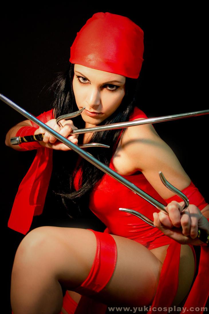 Elektra Cosplay by Yukilefay