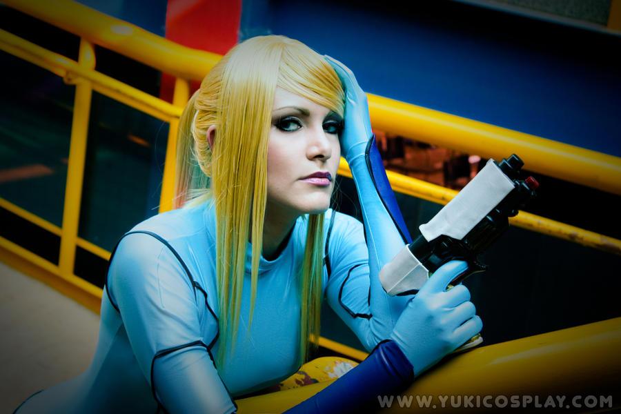 Metroid - Zero Suit Samus 2 by Yukilefay