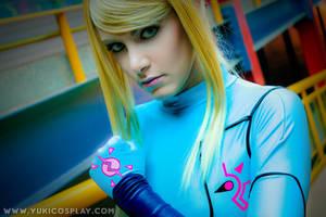 Metroid - Zero Suit Samus 6 by Yukilefay