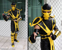 Scorpion - Mortal Kombat by Yukilefay