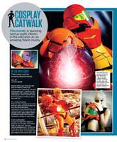 Nintendo Gamer Magazine - Samus Cosplay by Yukilefay