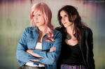 Lightning and Fang - Casual FFXIII