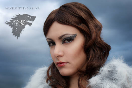 STARK makeup - Game of Thrones inspired