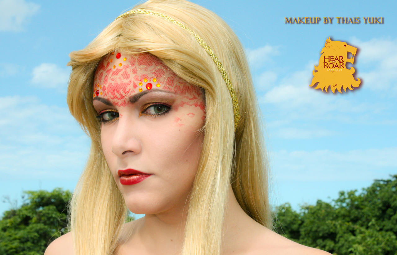 LANNISTER makeup - Game of Thrones inspired by Yukilefay