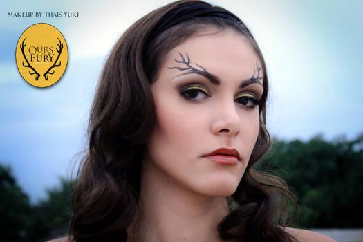 BARATHEON makeup - Game of Thrones inspired
