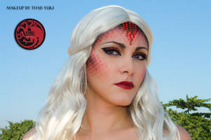 TARGARYEN makeup - Game of Thrones inspired by Yukilefay