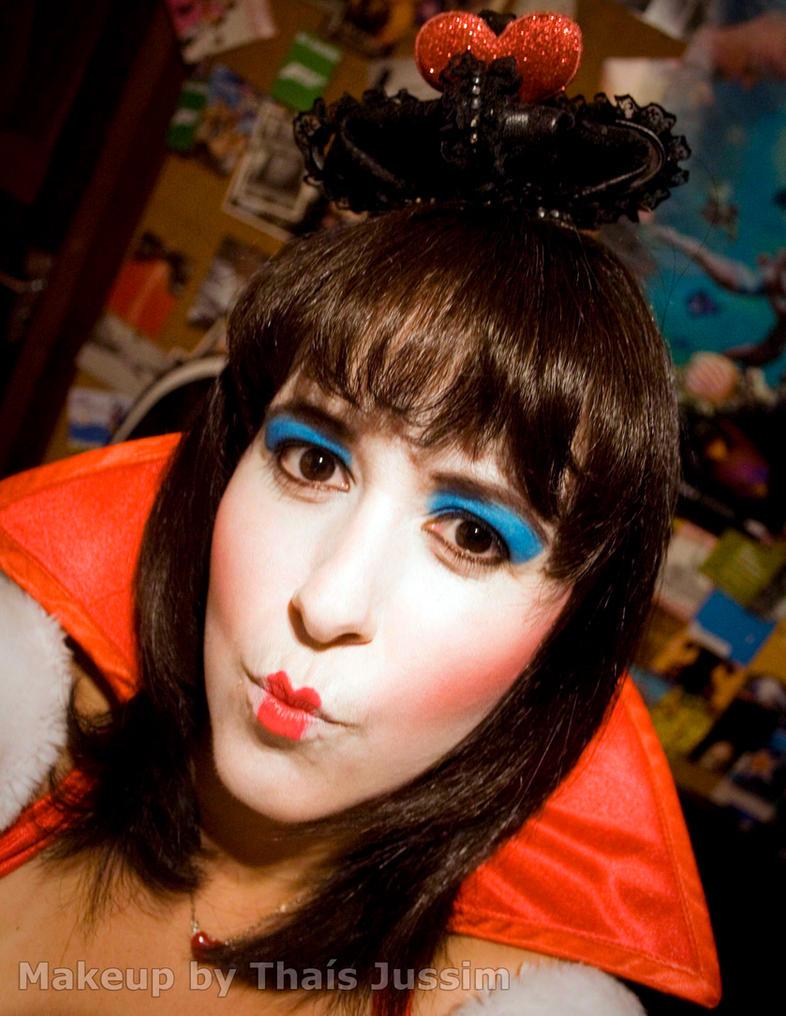 Queen of Hearts - Makeup by Yukilefay