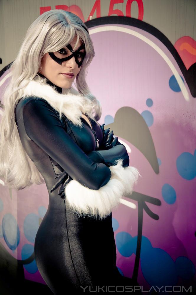 Black Cat Cosplay- Spiderman by Yukilefay
