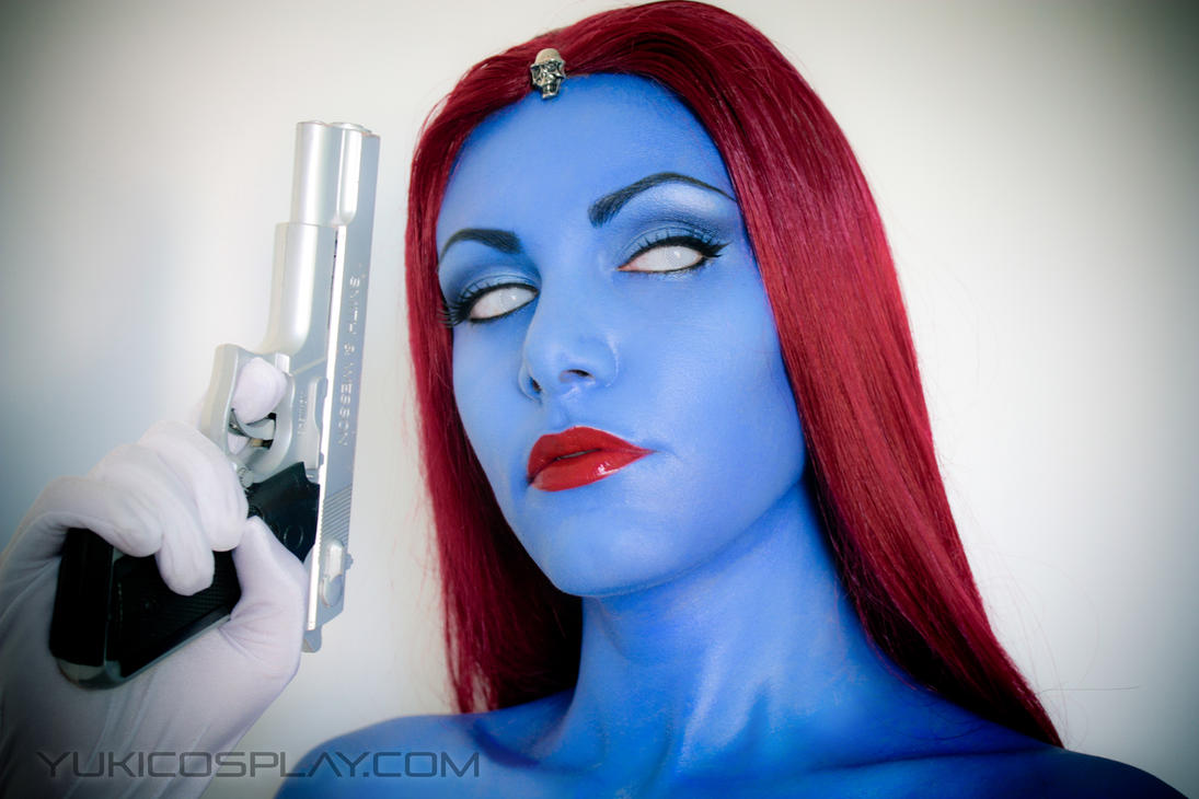 Mystique makeup by Yukilefay