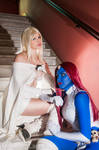 White Queen and Mystique