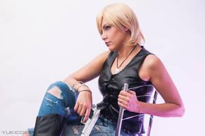 Aya Brea cosplay