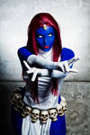 Mystique at ComicCon Experience