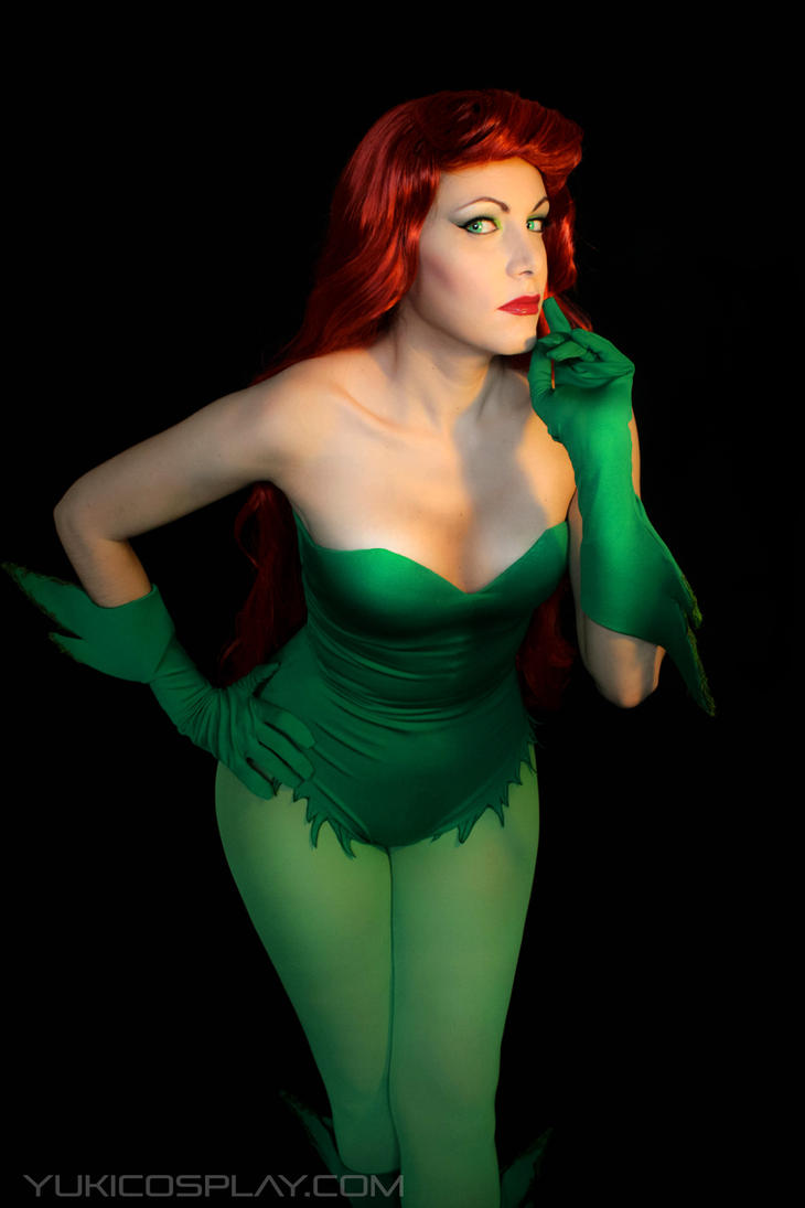 Poison Ivy - Cosplay test by Yukilefay