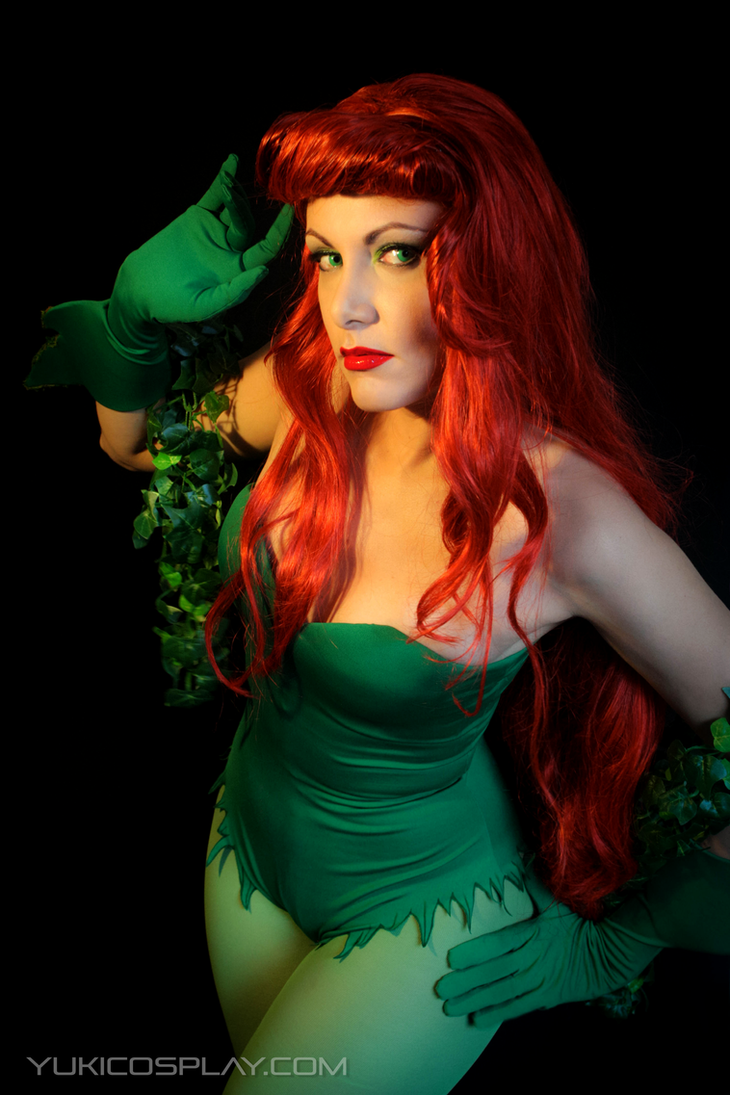 Poison Ivy - Batman by Yukilefay