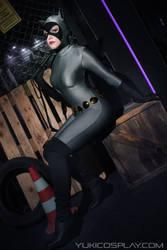 Catwoman - Batman: The Animated Series by Yukilefay