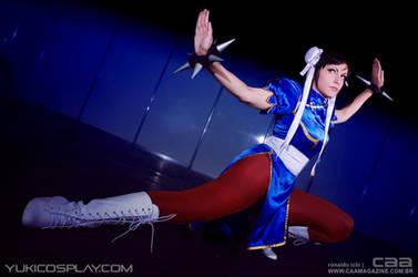 Chun Li - Street Fighter - CAA Photoshoot by Yukilefay