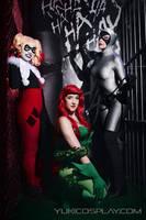 Partners in crime - Gotham Sirens Cosplay by Yukilefay