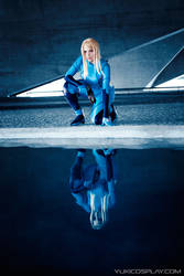 Reflection - Samus cosplay by Yukilefay
