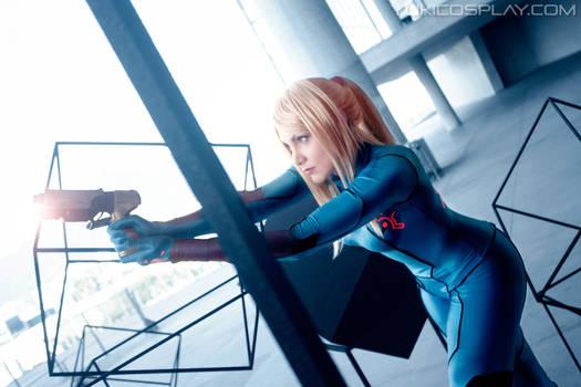 Zero Suit Samus   Metroid   by CAA