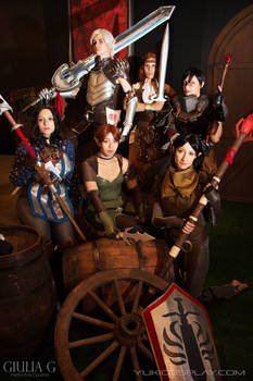 Dragon Age II - Cosplay Group
