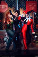 Gotham Sirens Cosplay by Yukilefay