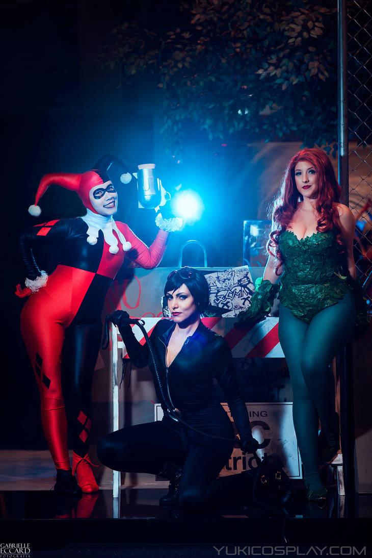 Gotham Bad Girls by Yukilefay