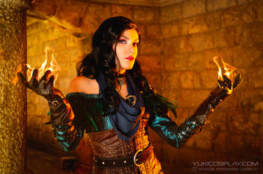 Yennefer Cosplay - The Witcher III by Yukilefay