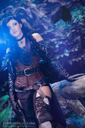 Yennefer cosplay - The Witcher by Yukilefay