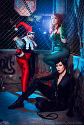 Gotham City Sirens by Yukilefay