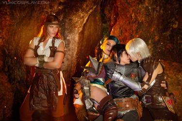 Dragon Age - Fenhawkebela by Yukilefay