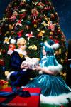 Merry X-mas - Sailor Moon Cosplay by Yukilefay