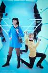 Kirk and Spock - Star Trek Genderbend