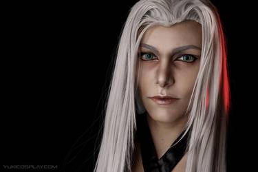 Sephiroth Makeup