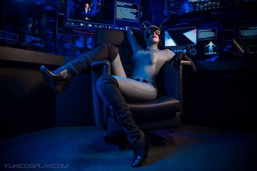 Catwoman at Batman Expo - Batcave