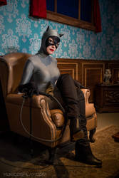 Catwoman at Wayne Manor