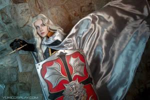 Alucard fighting| Castlevania Cosplay