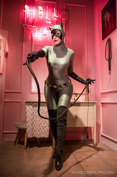 HELLo tHERE - Catwoman cosplay 2