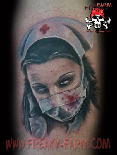 D.D. - sick nurse 2 by D-D-Tattoo