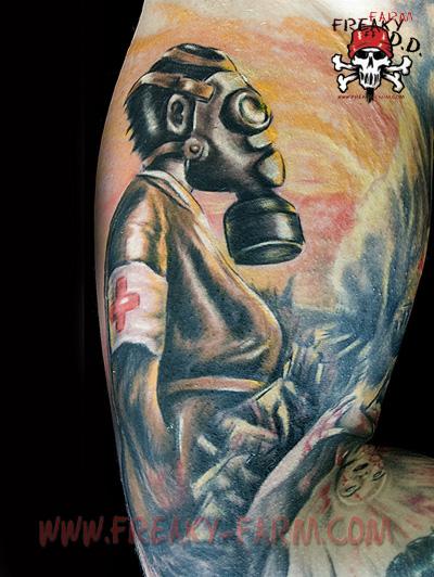 Dirk Dunkel - atom by D-D-Tattoo