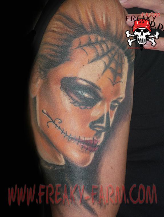 Dirk Dunkel - la catrina by D-D-Tattoo