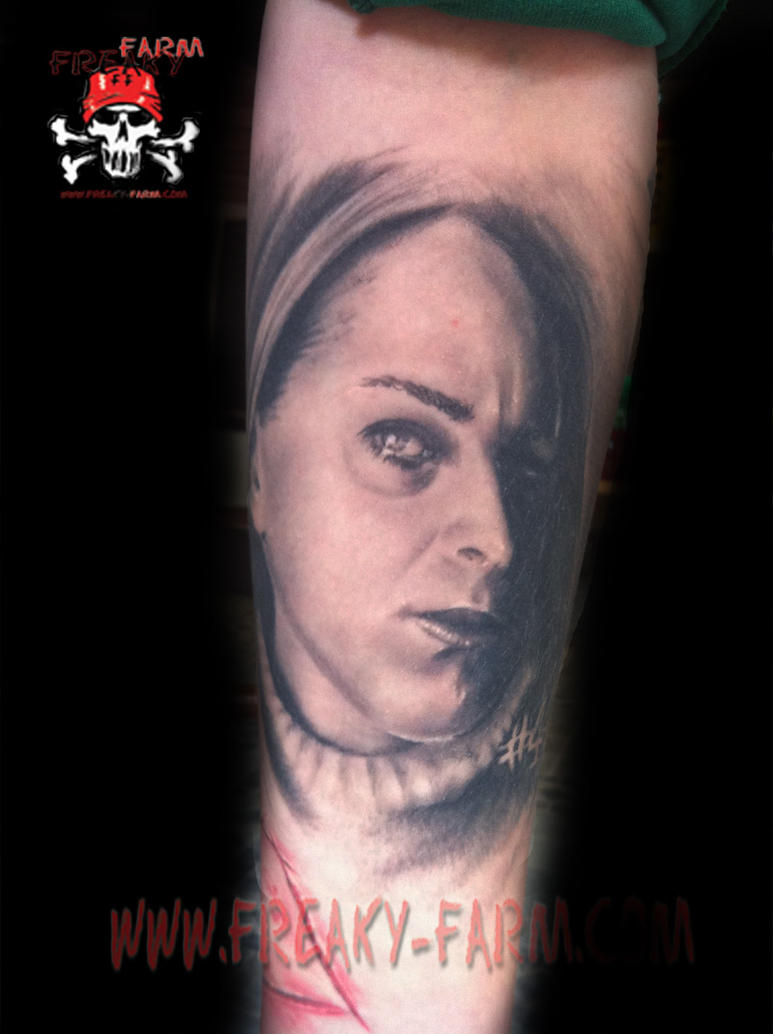 Dirk Dunkel - Potrait by D-D-Tattoo