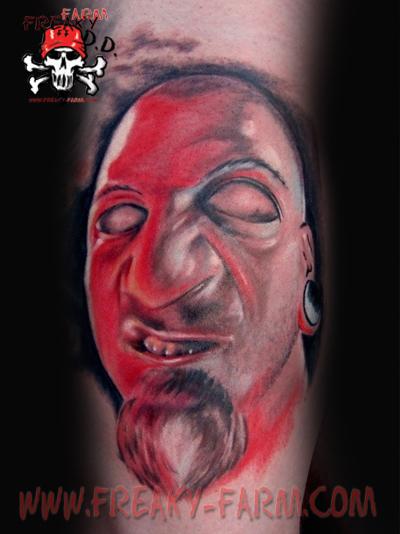 Dirk Dunkel - Self Potrait by D-D-Tattoo